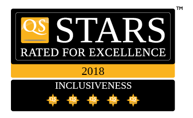 UTHM QS 5 Stars Rating in Inclusiveness