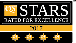 UTHM QS 4 Stars Rating ( Overall 4-star Rated 2017)