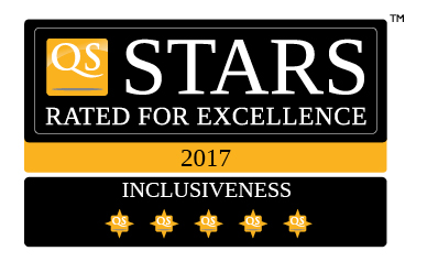 UTHM QS 5 Stars Rating Inclusiveness