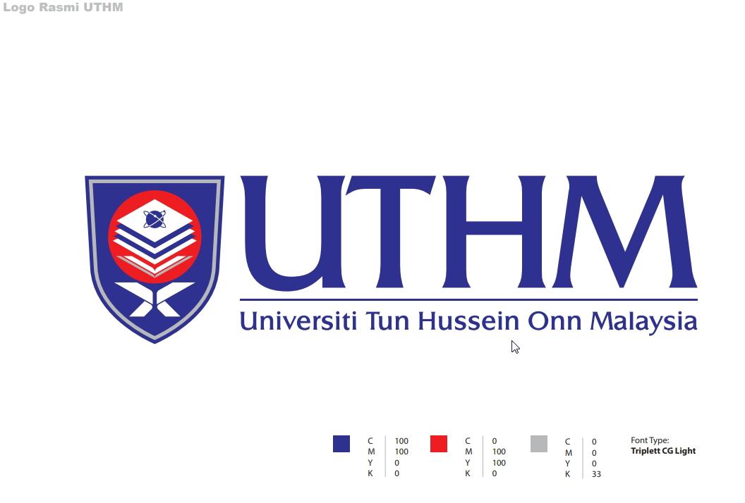 Logo Rasmi UTHM high resolution